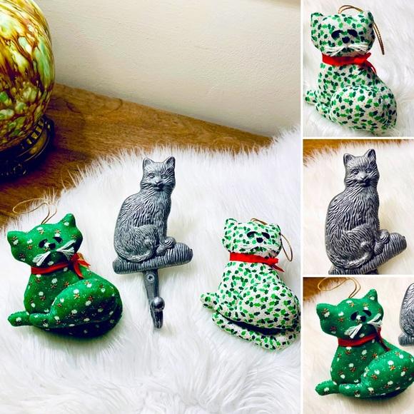🦋2/$10 3/$15 4/$18 5/$20 Vintage Cat Set